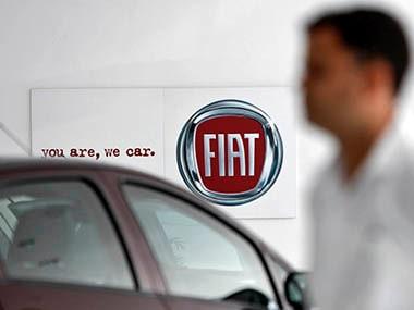 Fiat logo. Reuters