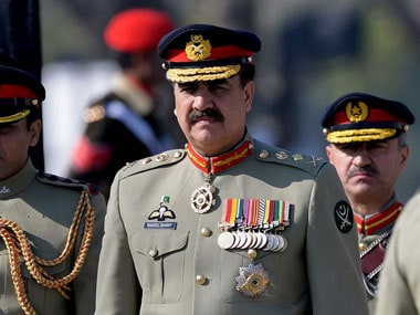 Raheel Sharif in this file photo. AFP
