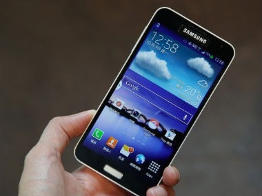 Samsung Galaxy J is seen in this file photo. Image from SamMobile.