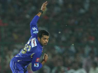 Sreesanth is in trouble for a IPL match-fixing scandal. BCCI
