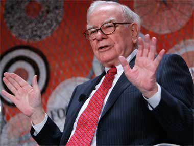 Warren Buffet, CEO, Berkshire Hathaway. Getty Images