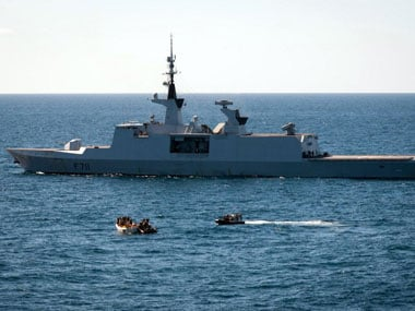 A file photo of Somali pirates. AFP