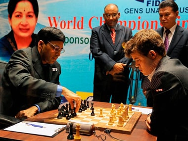 Anand, Carlsen to face-off in strongest ever chess tournament