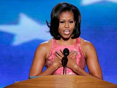 Internet freedom universal right says Michelle Obama in China