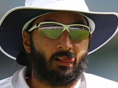 Monty Panesar wanted some company after England lost to Australia in Melbourne. Getty Images