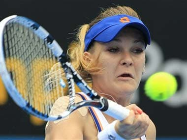 Radwanska received treatment on her right serving shoulder during last week's Hopman Cup in Perth and said Tuesday it was still bothering her. AP