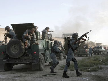 A file image of NATO forces in Afghanistan. AFP.