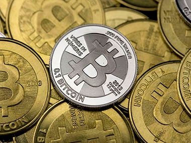 Bitcoins are seen in this file photo. Reuters