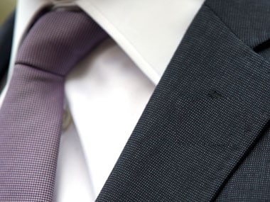 How many ways have you tried to knot a tie? Reuters
