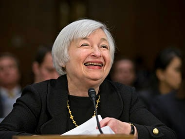 Janet Yellen, chairwoman, US Fed. AP
