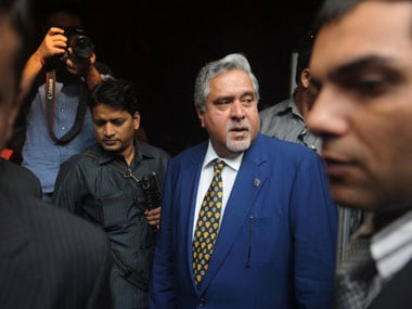 UB Chief Vijay Mallya. AFP