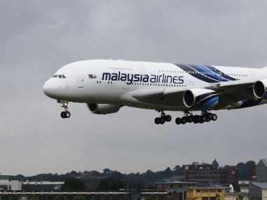 File photo of a Malaysia Airlines plane. Reuters