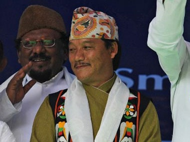 File image of Bimal Gurung. AFP