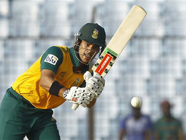 South Africa announce JP Duminy-led T20 squad for series against India; Imran Tahir rested