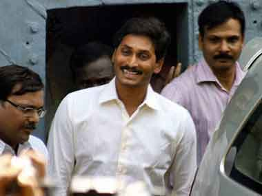 File image of Jagan Mohan Reddy. PTI