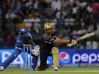 Jacques Kallis thumped 72 from 46 balls to lead KKR past MI. BCCI