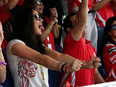 KIXP co-owner Preity Zinta was overjoyed by her team's win over CSK