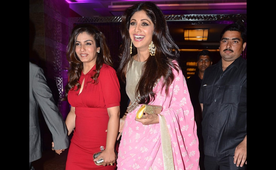 Raveena Tandon And Shilpa Shetty