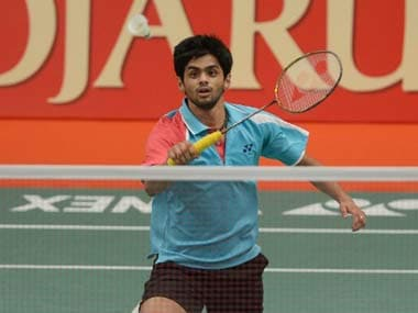 File image of Sai Praneeth. AFP