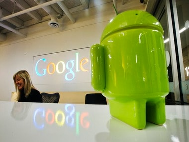 Android bot. Reuters