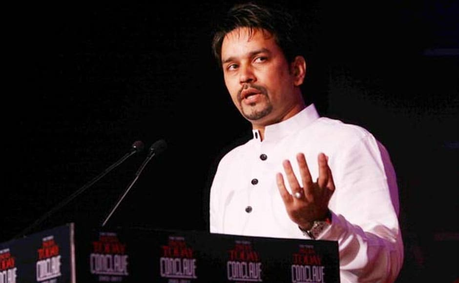 Cricketer-turned-politician and BJP's Hamirpur candidate, Anurag Thakur, who won the Hamirpur constituency is son of former Himachal Pradesh CM Prem Kumar Dhumal. The 39-year-old minister could be a hopeful for the new Modi-led Cabinet. IBNLive