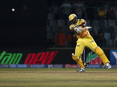 Dwayne Smith of The Chennai Superkings during match 26 of the Indian Premier League Season 2014 between the Delhi Daredevils and the Chennai Super Kings. BCCI
