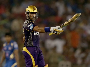 Robin Uthappa's form has been a major reason for KKR's success this season. BCCI