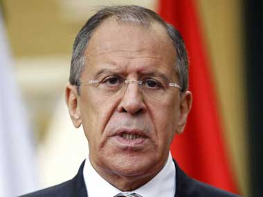 File image of Russian Foreign Minister Sergey Lavrov. AFP