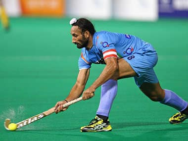 File photo of India skipper Sardar Singh. Getty Images