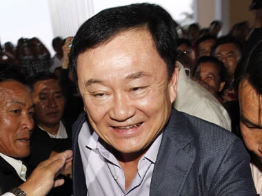 Thaksin Shinawatra. Reuters