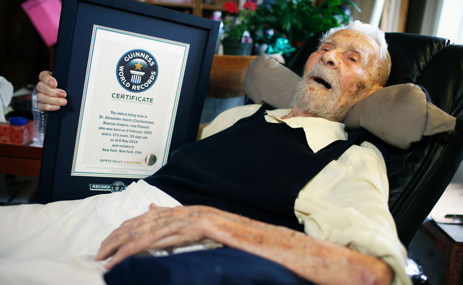 Photos Aged 111 Worlds Oldest Man And Parapsychology Author Dies