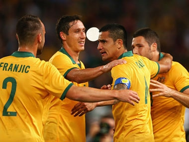 File picture of Australia team. Getty Images