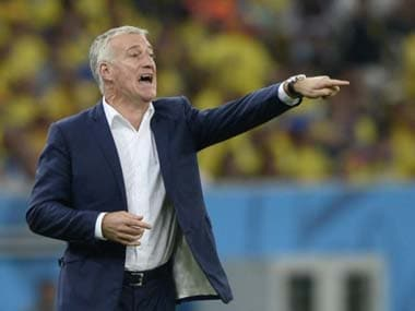 France couldn't find a way to score against 10-man Ecuador. AFP