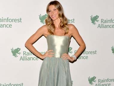 Gisele Bundchen is highest paid model for eighth year in a row