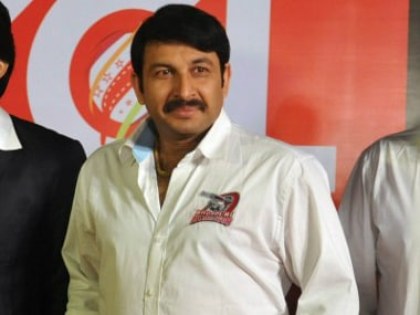 MP and Bhojpuri actor Manoj Tiwari. AFP