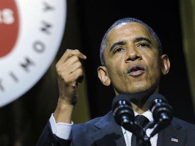 Barack Obama said US will not intervene in Iraq without a political plan there. AP