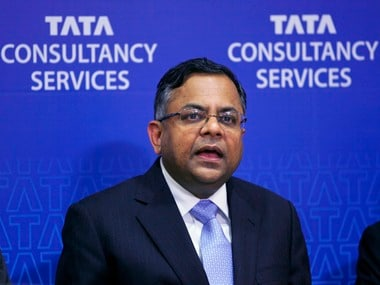 TCS CEO and managing director N Chandrasekaran. Reuters
