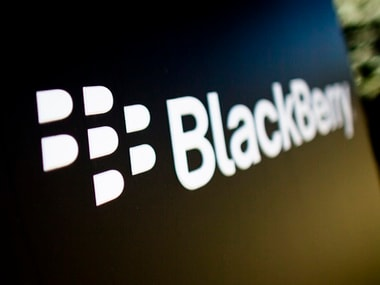 BlackBerry logo. Reuters