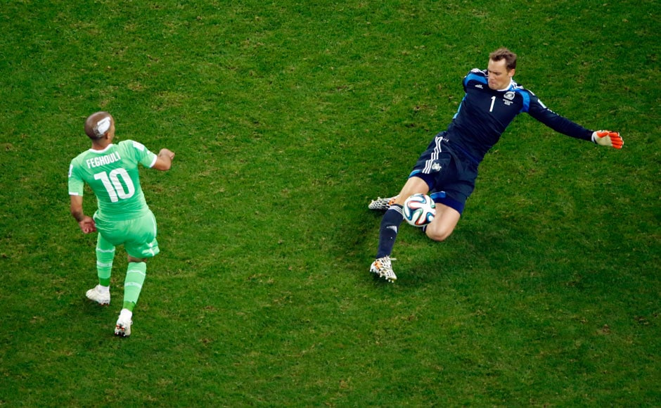 Photos: Manuel Neuer the 'sweeper keeper' saves Germany in ...