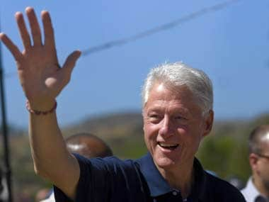 Trump is attacking former US president Bill Clinton for his 'marital infidelity'/ Reuters