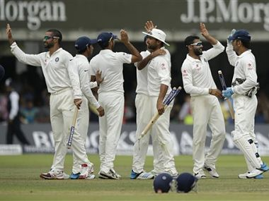 India won the second Test at Lord's. AP