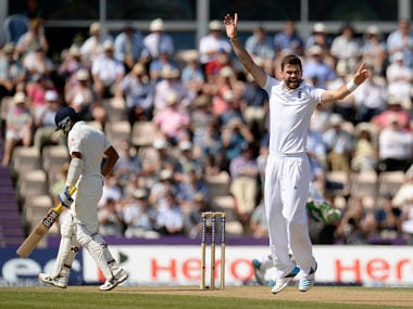 File picture of James Anderson. Reuters