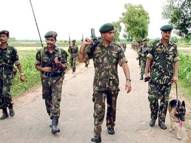 Assam Rifles personnel. Representational image. AFP.
