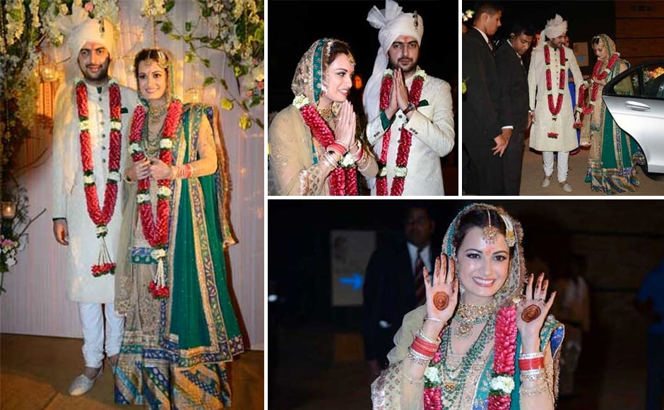 Dia Mirza Makes A Pretty Bride Offscreen As Well And Heres The Proof Actress