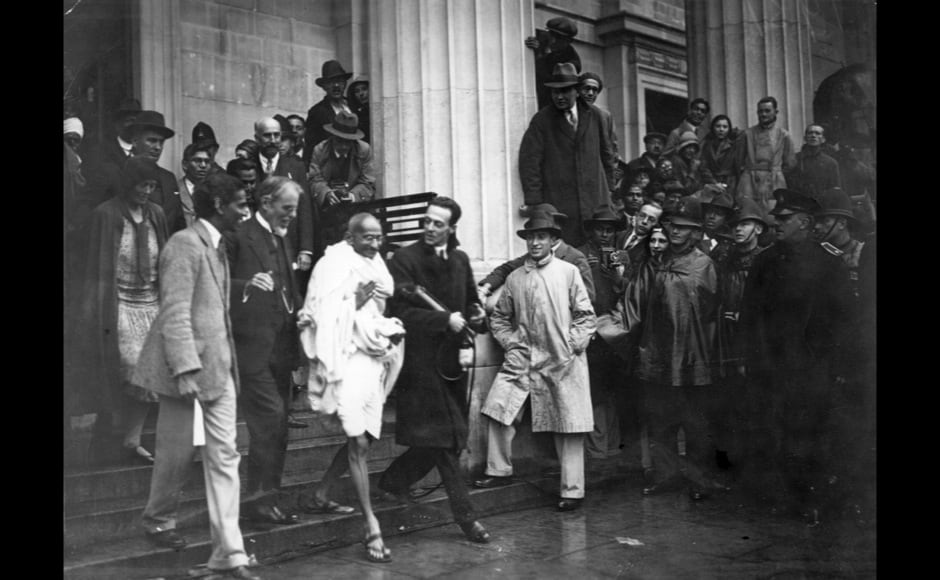 Photos 14 rare and must see images of mahatma gandhi - English conference national league table ...