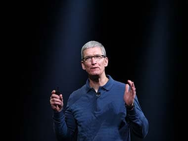 Apple CEO Tim Cook. AFP