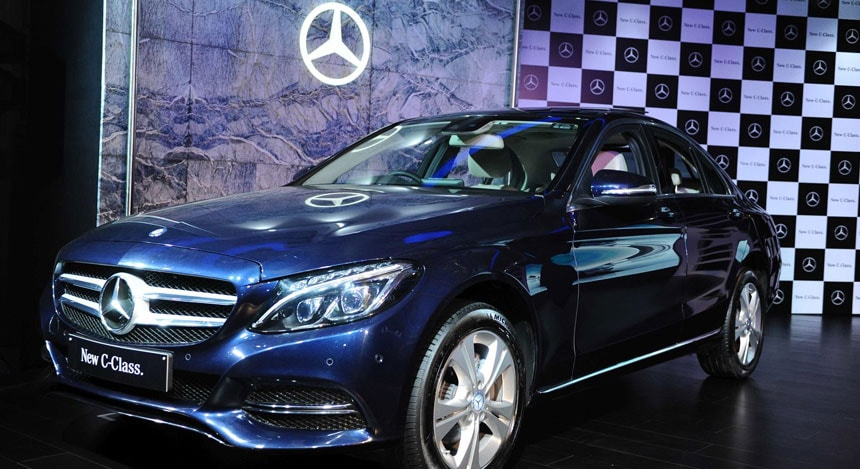 Photos mercedes benz launches the new generation c class for How much is a mercedes benz c class