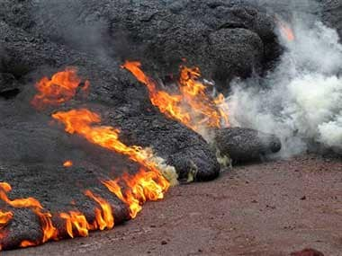 Asteroid caused immense lava eruptions in India killing off dinosaurs, say researchers