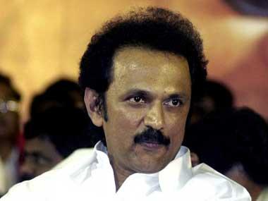 DMK leader MK Stalin. AFP