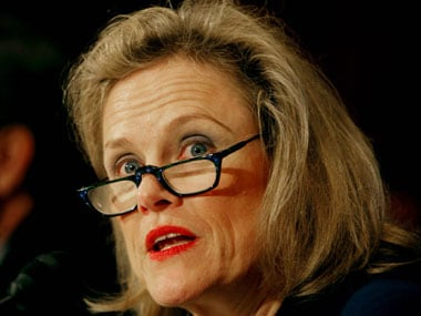 Robin Raphel in a file photo. Getty Images